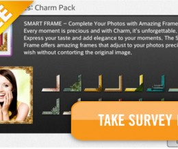 Free Charm Frame Pack Download with 3 Question Survey!