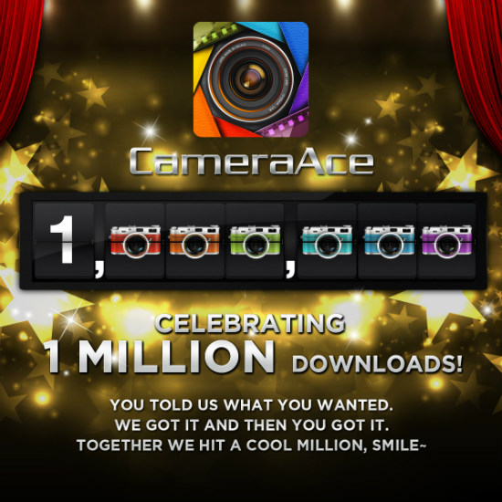 cameraace million users